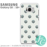 alien emoji Phone Case for Samsung Galaxy S8 & S8 Plus - JARCASE