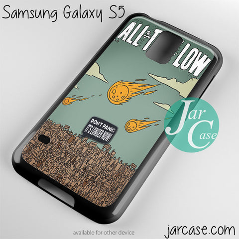 all time low poster Phone case for samsung galaxy S3/S4/S5