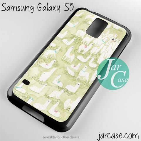 alpaca Phone case for samsung galaxy S3/S4/S5