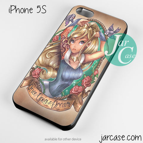 aurora sleeping beauty pin up Phone case for iPhone 4/4s/5/5c/5s/6/6 plus