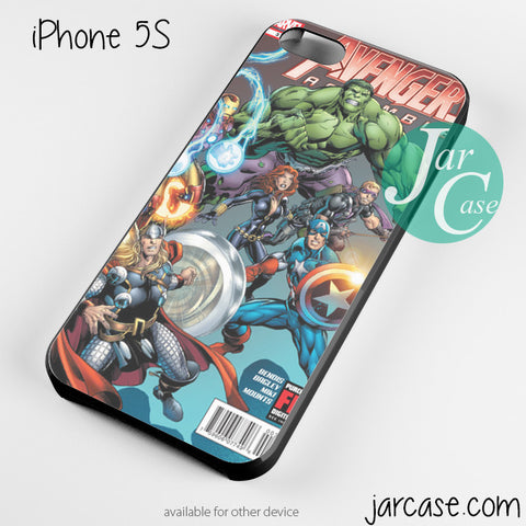 Avenger comic Phone case for iPhone 4/4s/5/5c/5s/6/6 plus