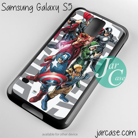 avx avengers versus xman Phone case for samsung galaxy S3/S4/S5