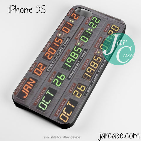 back to the future date Phone case for iPhone 4/4s/5/5c/5s/6/6 plus