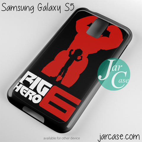 big hero 6 Phone case for samsung galaxy S3/S4/S5