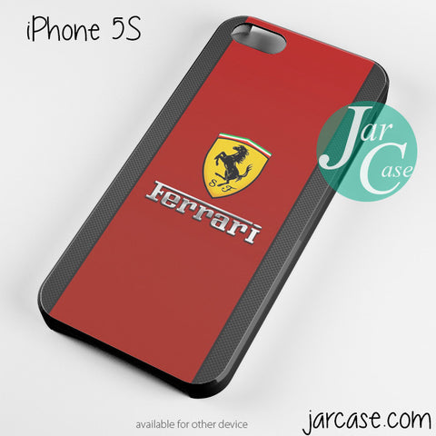 Ferrari red cool Phone case for iPhone 4/4s/5/5c/5s/6/6 plus