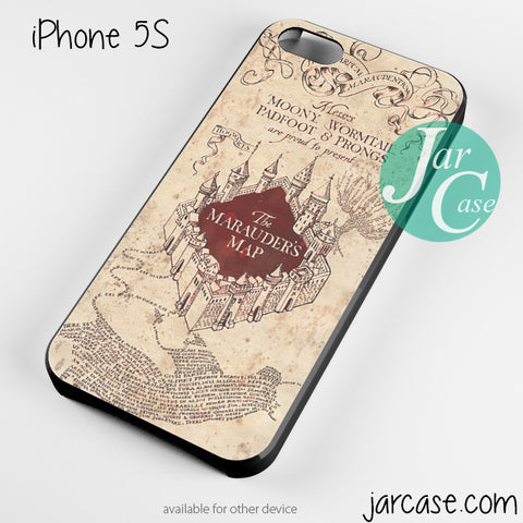 harry potter marauders map Phone case for iPhone 4/4s/5/5c/5s/6/6 plus