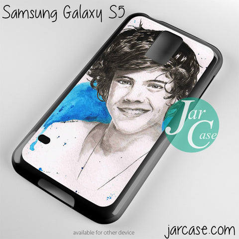 harry styles one direction Phone case for samsung galaxy S3/S4/S5