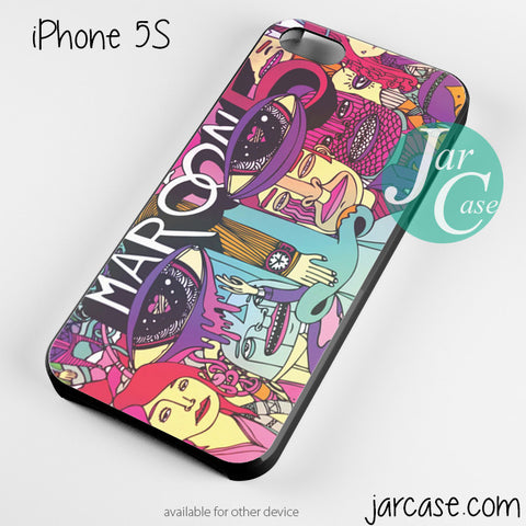 maroon 5 album Phone case for iPhone 4/4s/5/5c/5s/6/6 plus