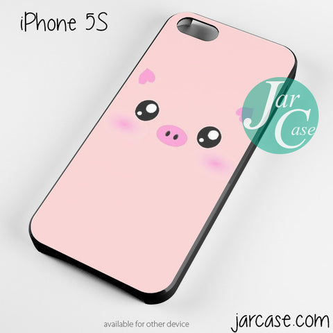 animal pig pink qute Phone case for iPhone 4/4s/5/5c/5s/6/6 plus