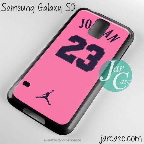 pink air jordan Phone case for samsung galaxy S3/S4/S5
