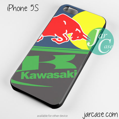 Red bull kawasaki Phone case for iPhone 4/4s/5/5c/5s/6/6 plus