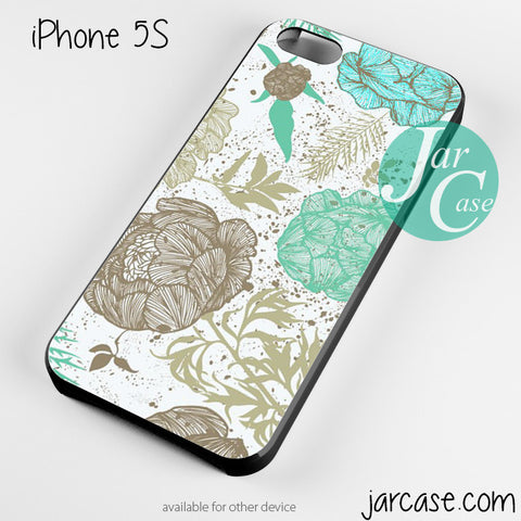 retro floral Phone case for iPhone 4/4s/5/5c/5s/6/6 plus