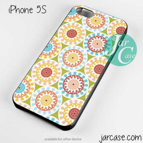 round floral Phone case for iPhone 4/4s/5/5c/5s/6/6 plus