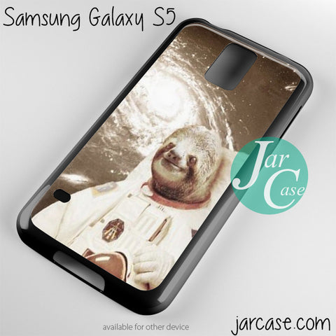 sloth astronaut Phone case for samsung galaxy S3/S4/S5