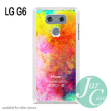watercolor iphone logo - LG G6 Case - LG Case - JARCASE