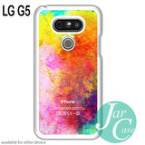 watercolor iphone logo for LG G5 and other devices - JARCASE