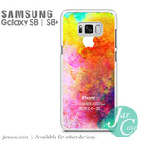 watercolor iphone logo Phone Case for Samsung Galaxy S8 & S8 Plus - JARCASE