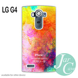 watercolor iphone logo - LG case - LG G4 case - JARCASE