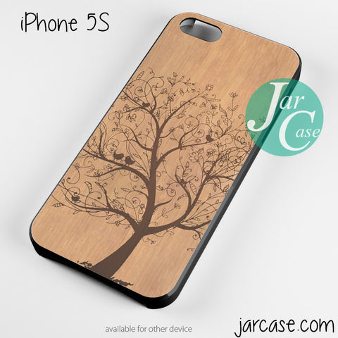wood tree floral Phone case for iPhone 4/4s/5/5c/5s/6/6 plus