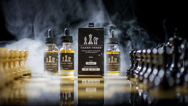 Taken Three by Five Pawns