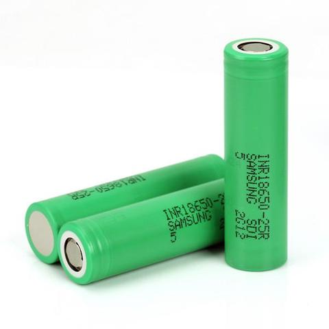 Samsung 25R 18650 Battery (2500mAh/20A)