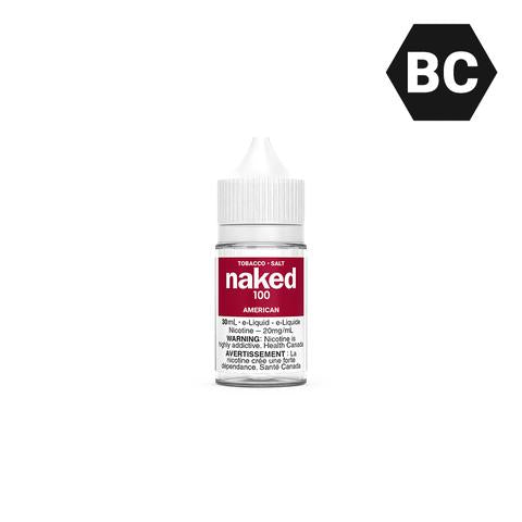 Naked100 SALT Tobacco - American