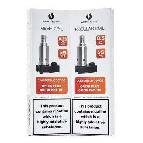 Orion Plus Replacement Coils (5 Pack)