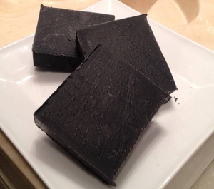 Black Charcoal Soap Shea Butter