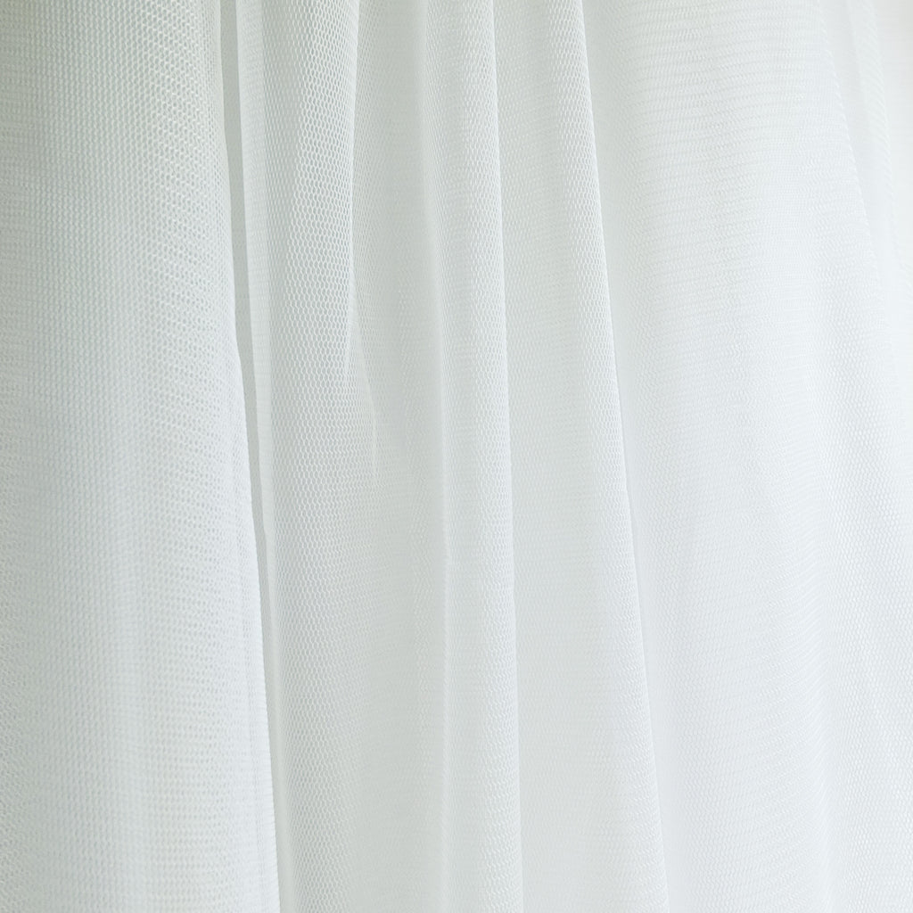 Soft Tulle Fabric 150cm Wide - Ivory