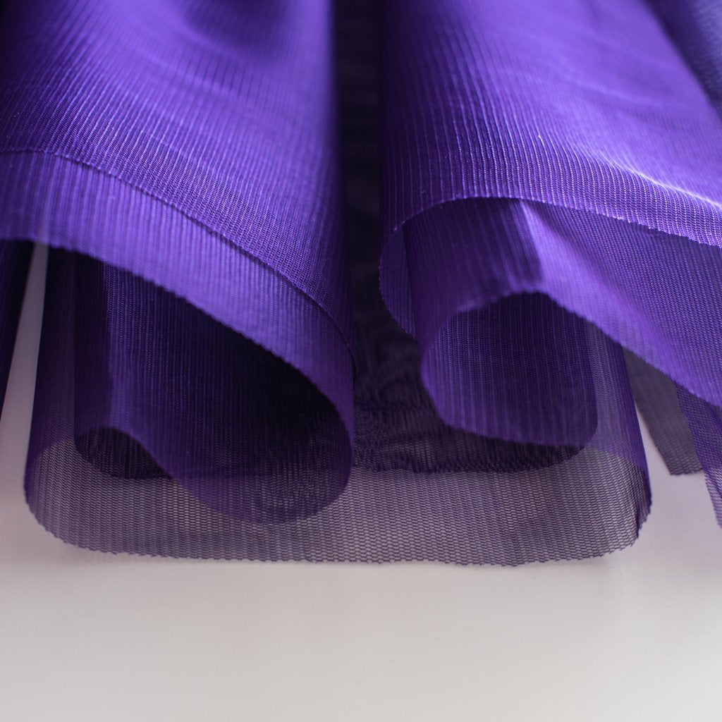 Purple Soft Tulle Dress Fabric 150cm Wide