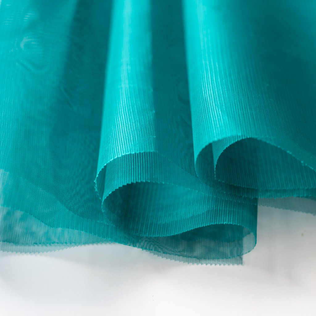Soft Tulle Fabric 150cm Wide - Teal