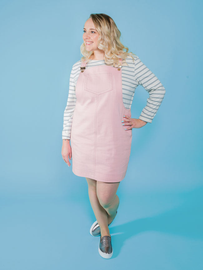 Tilly & The Buttons Cleo Dungaree Dress Paper Pattern 1014