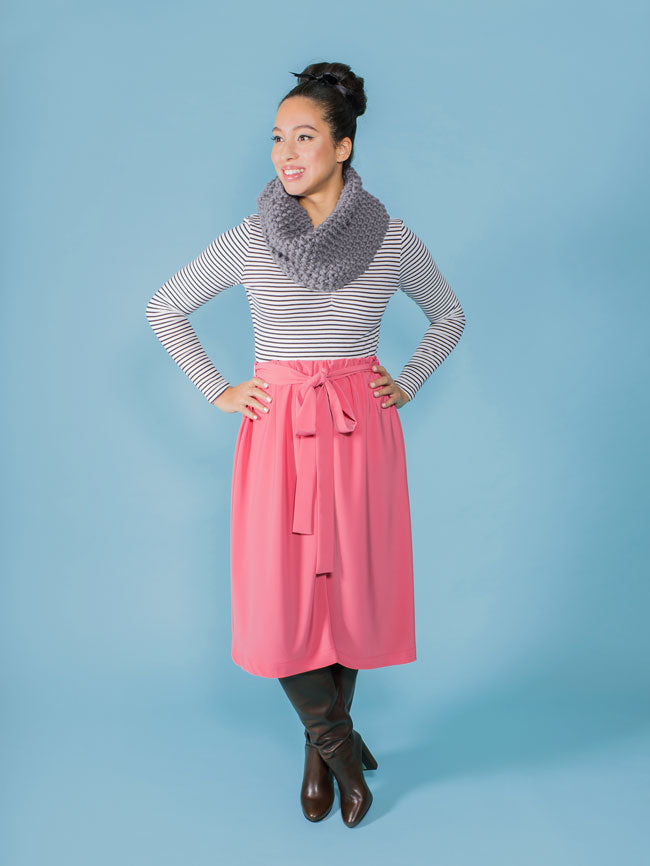 Tilly & The Buttons Dominique Skirt Paper Pattern 1010