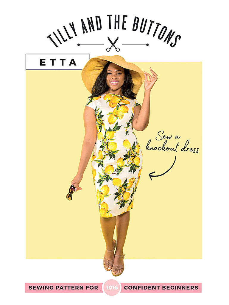 Tilly & The Buttons Etta Dress Paper Pattern 1016