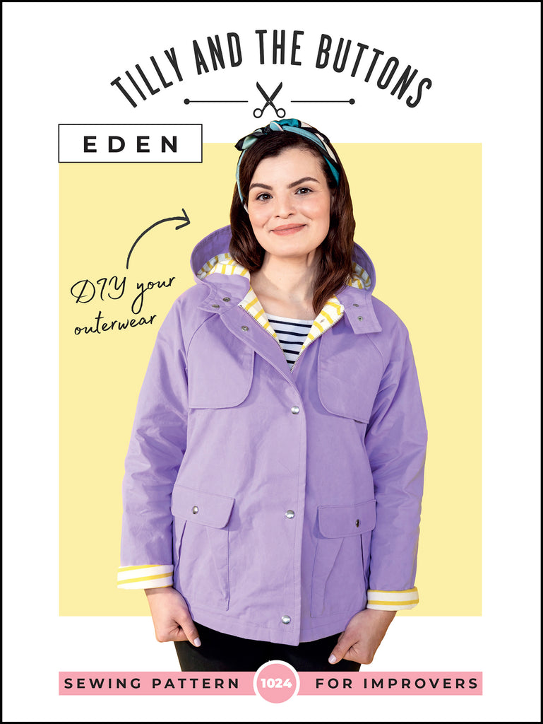 Tilly & The Buttons Eden Jacket & Coat Paper Pattern 1024