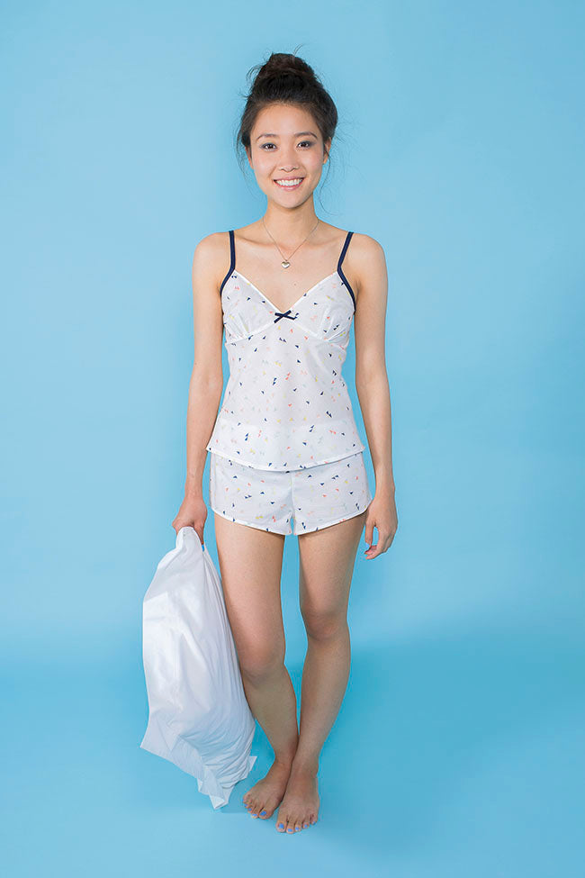 Tilly & The Buttons Fifi Camisole and Shorts Paper Pattern 1008