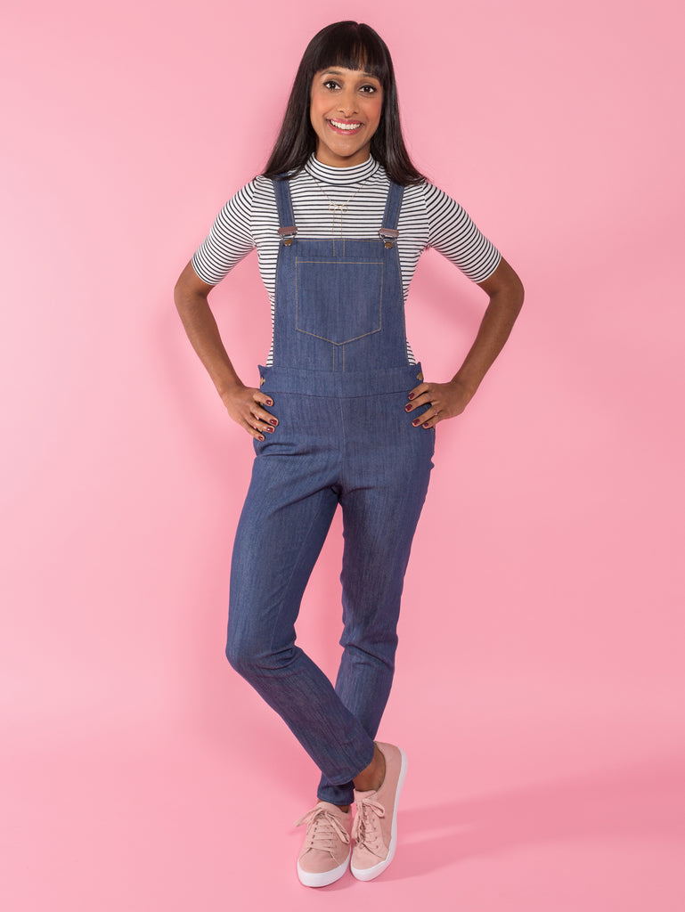 Tilly & The Buttons Mila Dungarees Paper Pattern 1019
