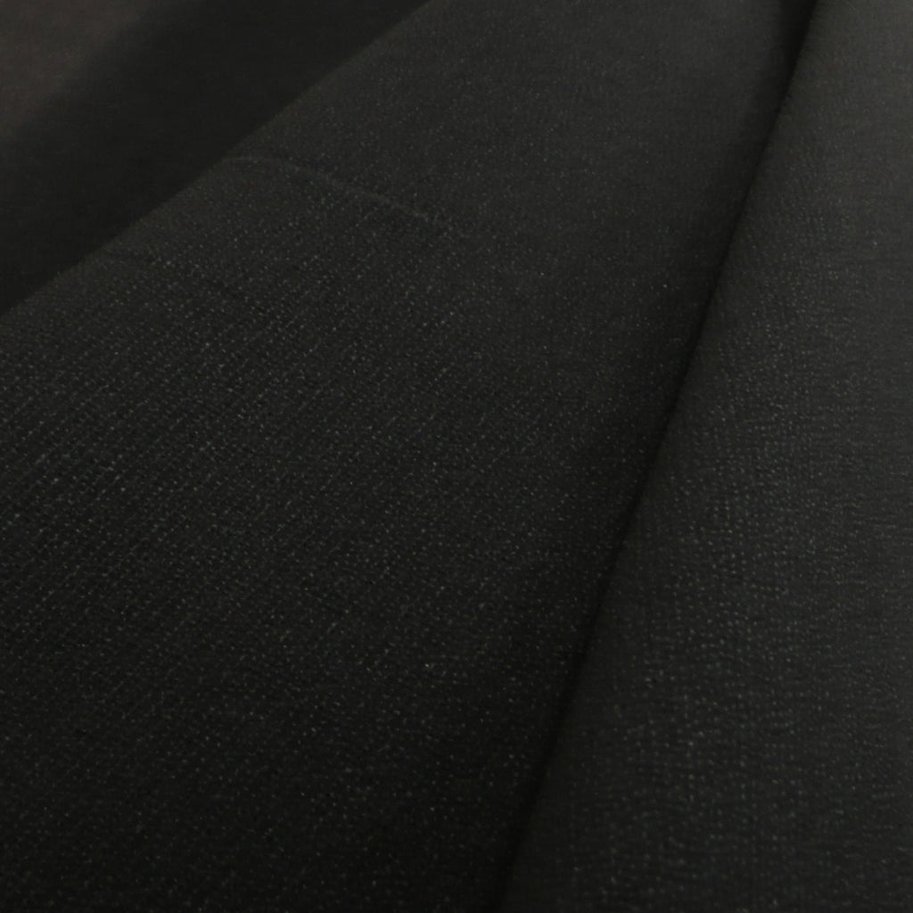 Stretch Jersey Knitted Interfacing (Iron On) - Black