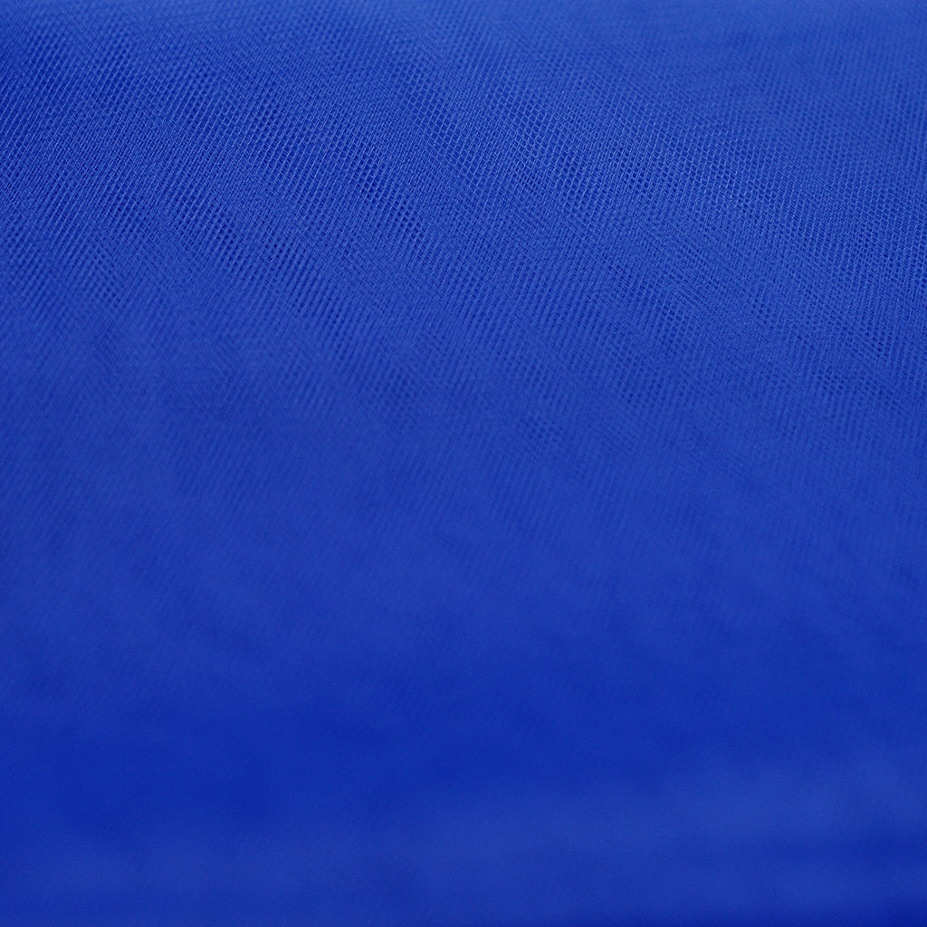 Royal Blue 300cm Wide Fine Tulle Fabric