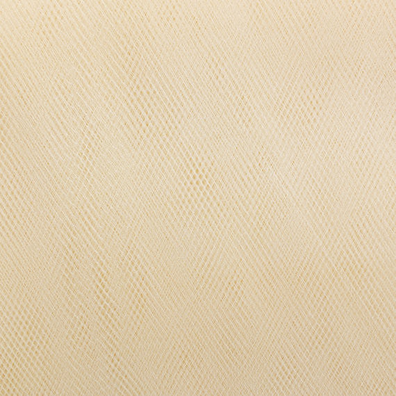 Honey Vanilla 300cm Wide Fine Tulle Fabric