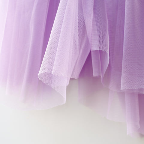 Soft Tulle Fabric 150cm Wide - Lilac Pastel Purple