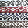 Geometric Woven Jacquard Heavy Ribbon - 4 Colours
