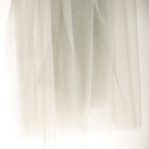 Soft Tulle Fabric 150cm Wide - Grey