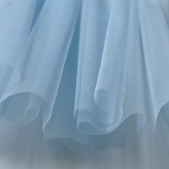 Soft Tulle Fabric 150cm Wide - Pastel Blue