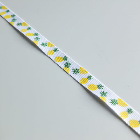 2 metres of Pineapple Fruit Ribbon