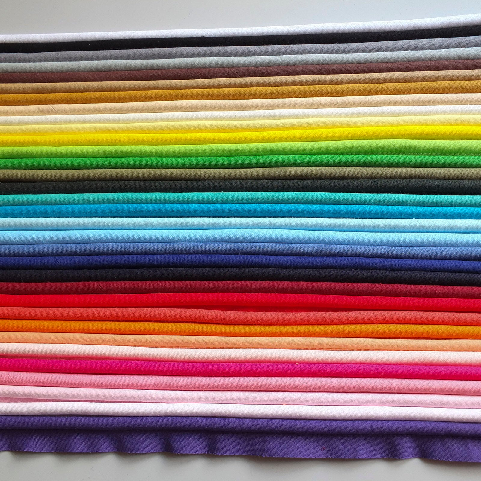 2m of 10mm Satin Piping Insertion Cord Flange Bias Piping Upholstery Sewing