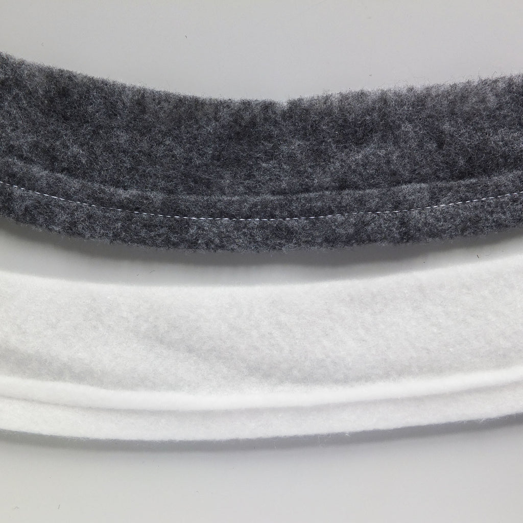 Sleeve Head Roll White or Charcoal - Without Canvas