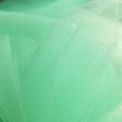 Aqua Mint Green 300cm Wide Fine Tulle Fabric