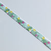2 metres of Tropical Plants Print Ribbon