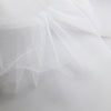White 300cm Wide Fine Tulle Fabric